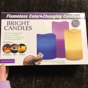 Other - LED Colored Candles